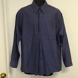 Calvin Klein 100% Cotton Dress Shirt Size 32/33